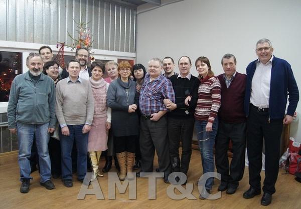 Собрание сотрудников ООО «ПМТ и К», посвященное итогам 2011 года